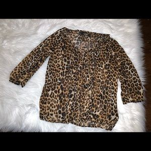 Cheetah shirt from express